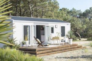 camping concarneau le cabellou plage - mobil-home Premium Iroise-EXT