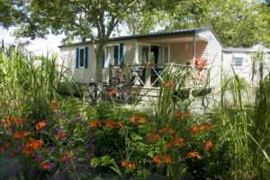 camping le cabellou plage - mobil-home comfort family