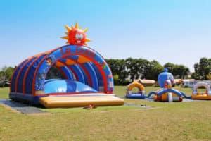 Aire de jeux camping Bretagne Concarneau