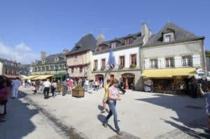 Ville close de Concarneau - camping Bretagne
