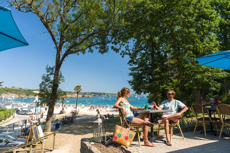 Bar Névez Port Manec'h camping Finistère