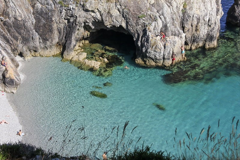 Camping Crozon Finistère eau bleue turquoise