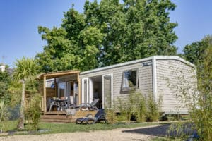 mobil-home camping bretagne sud le cabellou