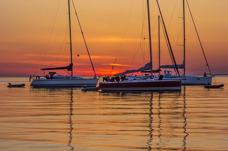 coucher-de-soleil-Archipel-Glenan